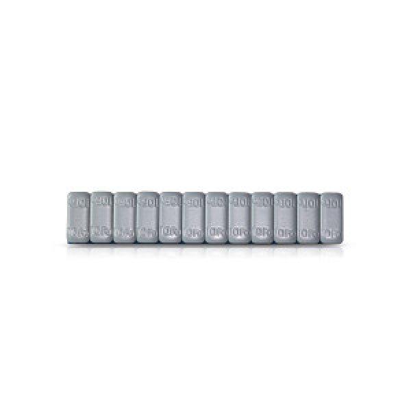 548-Šedá 120g (12x10g) Fe samolepící závaží pro alu disky SUV HOFMANN