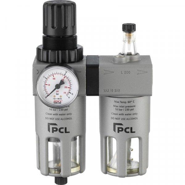 """ATCFRL12 filtr na úpravu vzduchu,regulátor,maznice 0-12bar ,1/2"""" PCL"""