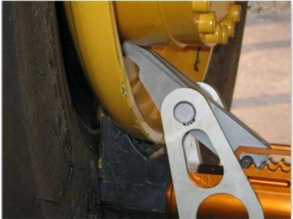 BS70náhradní hák pro demontáž vnitřní stranu disku PMM