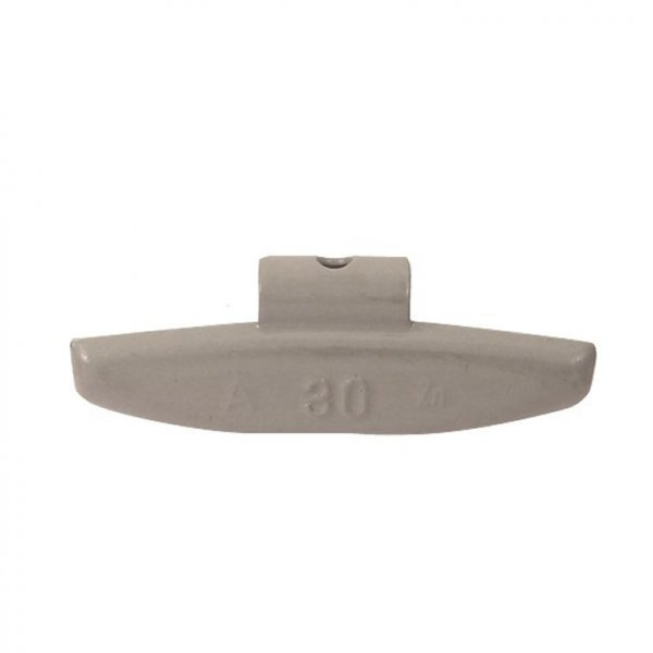 63-Šedá 30g Zn vyvažovací závaží osobní ALU disk-lakované PERFECT
