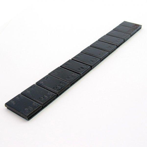 397B FL Černá 60g(12x5g)  Fe samolepící závaží pro alu disky osobní PERFECT
