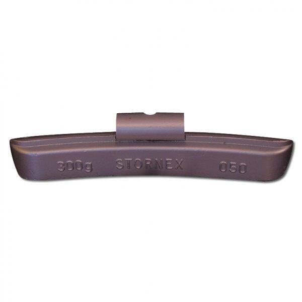 """50STORNEX 300g Pb závaží nákladní bezdušový ocelový disk 20-22,5"""" TRUCK/BUS"""