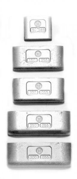 NKS300g Pb závaží nákladní samolepící pro ALU disk